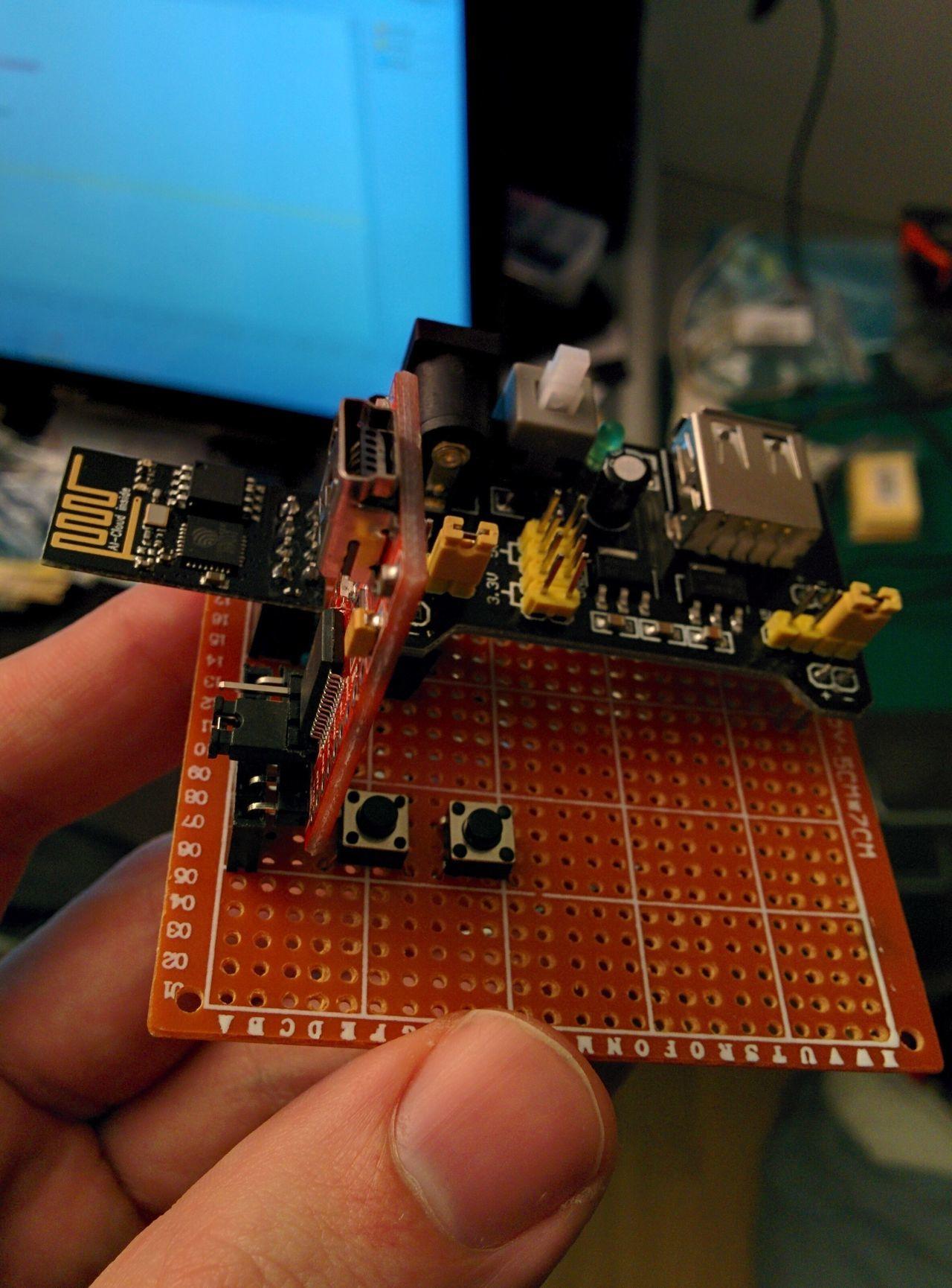Flashing ESP8266 ESP-01