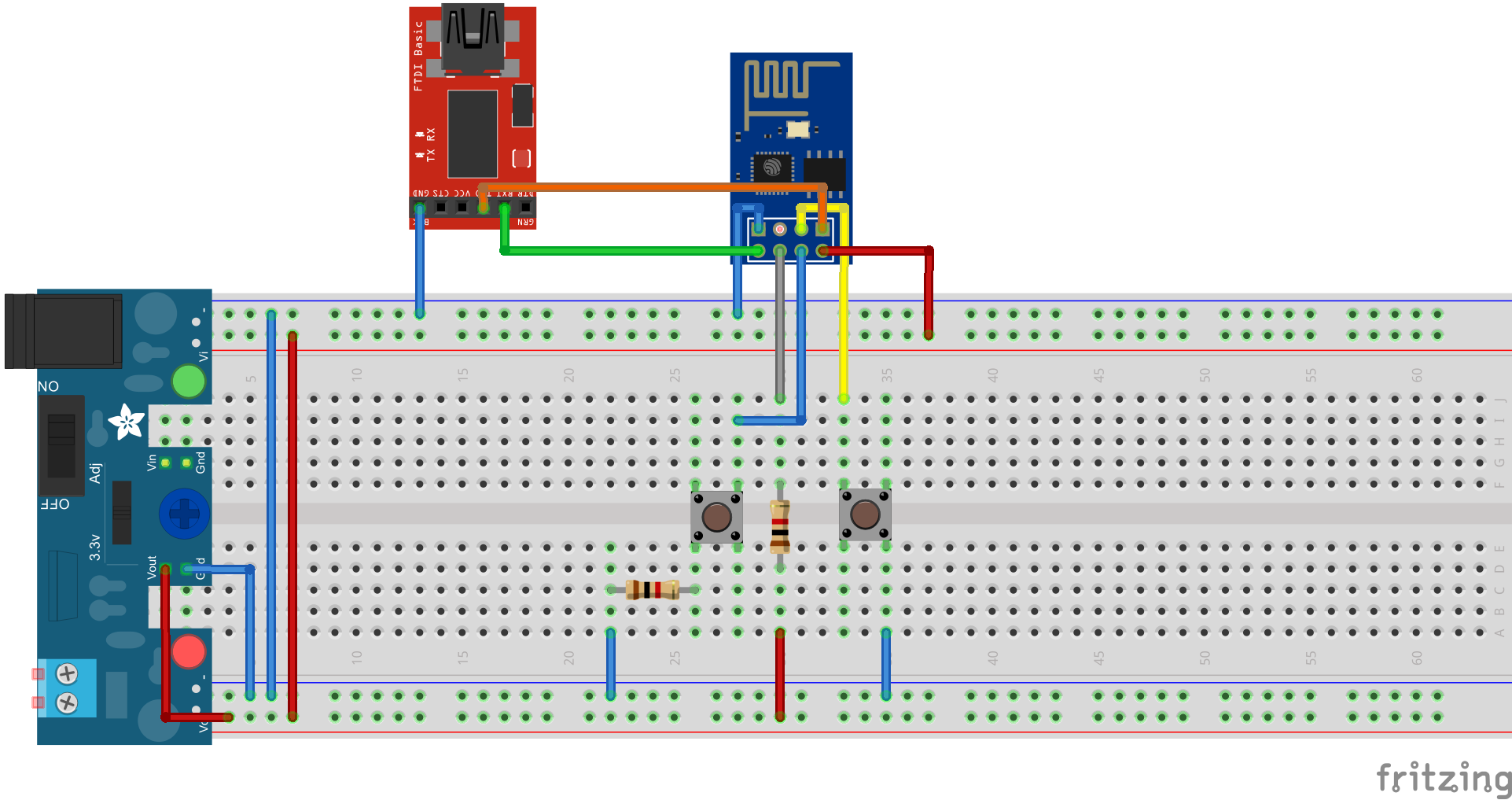 Flashing Esp8266 Esp 01 Circuit Diagram Using Breadboard Eps01