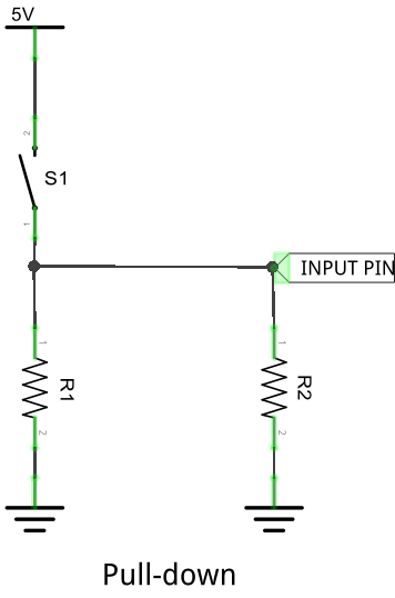 Pull-down circuit