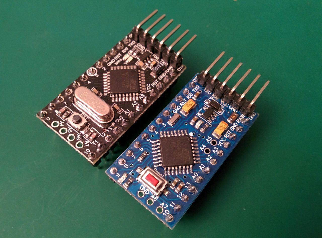 Arduino Pro Mini fronts