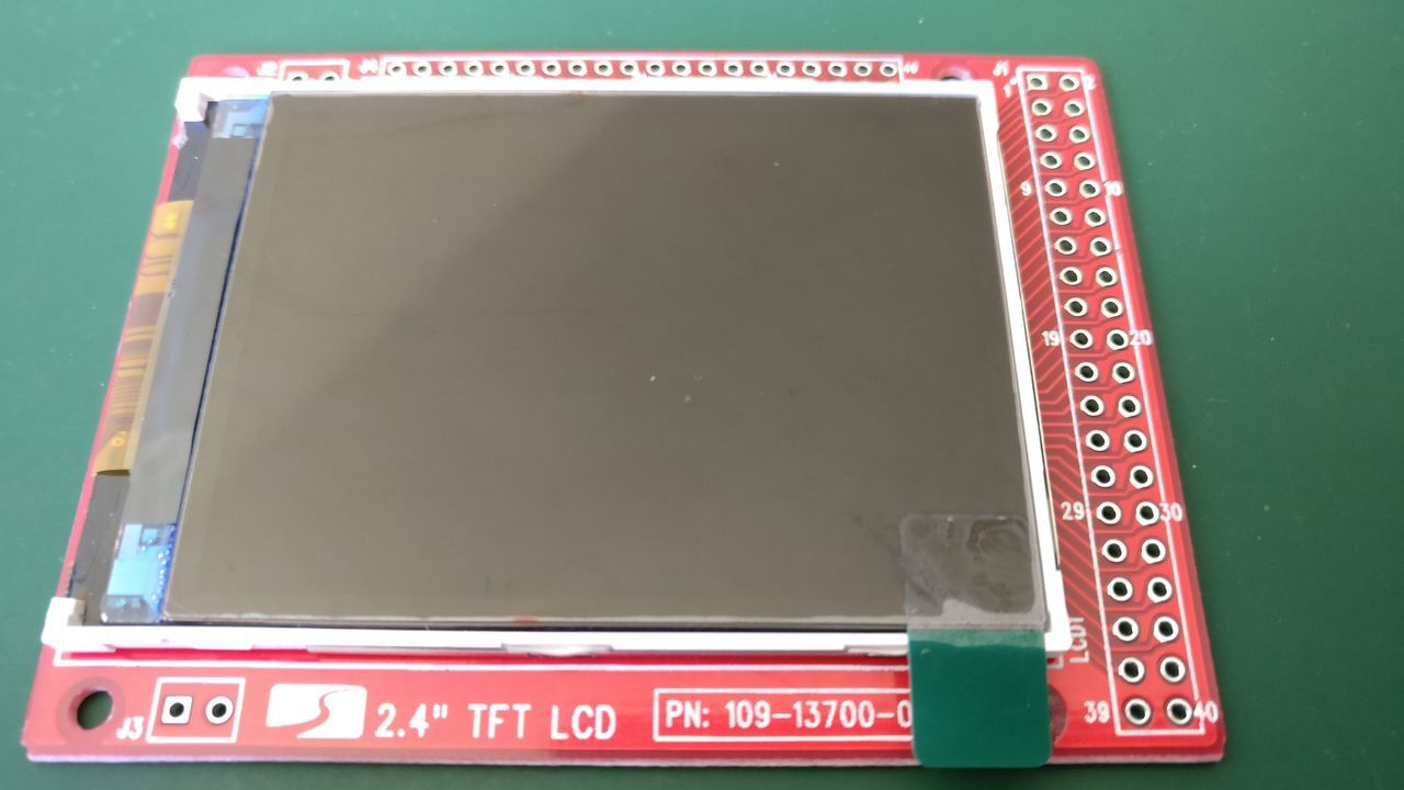 DSO138: Screen board side 1