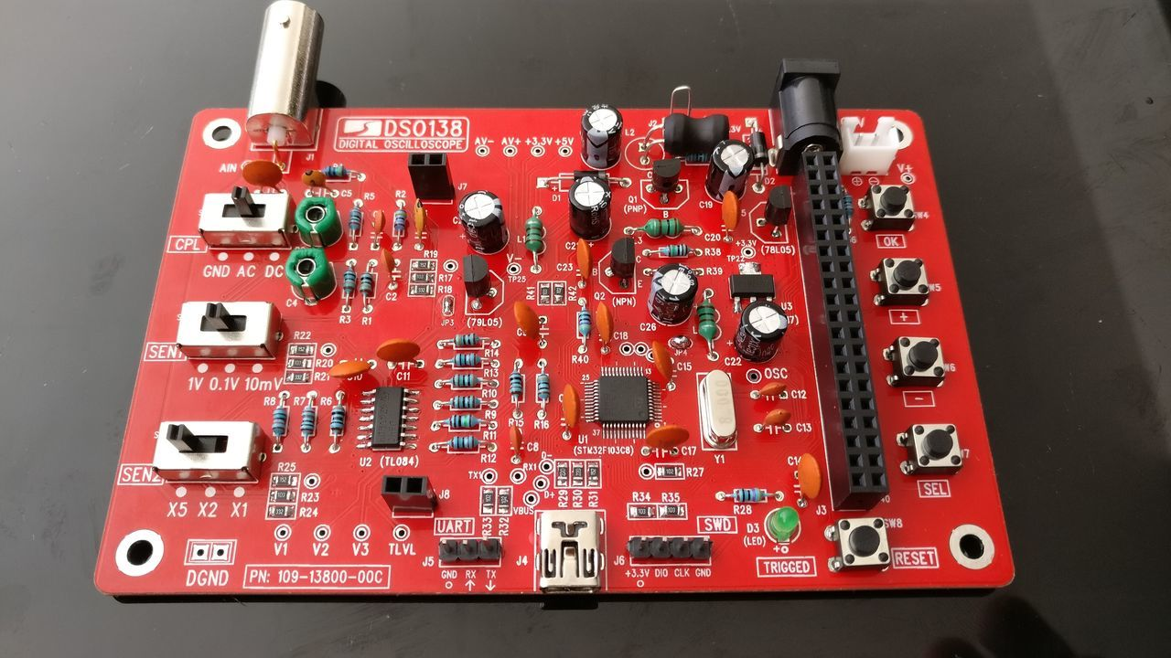 DSO138: Result main board