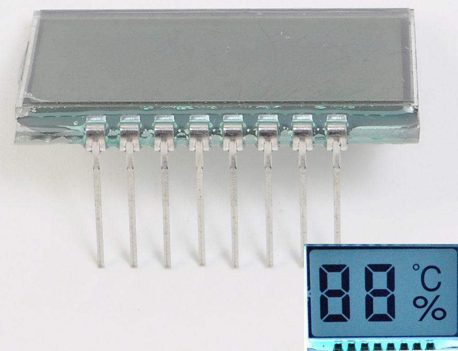 Dynamic drive LCD display