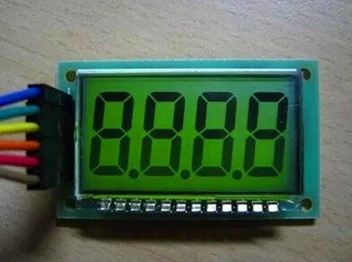 LCD display with HT1621