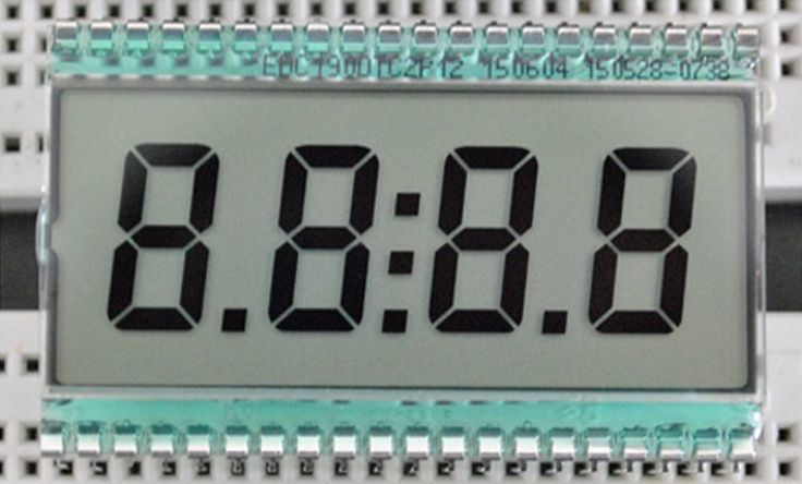 Static drive LCD display