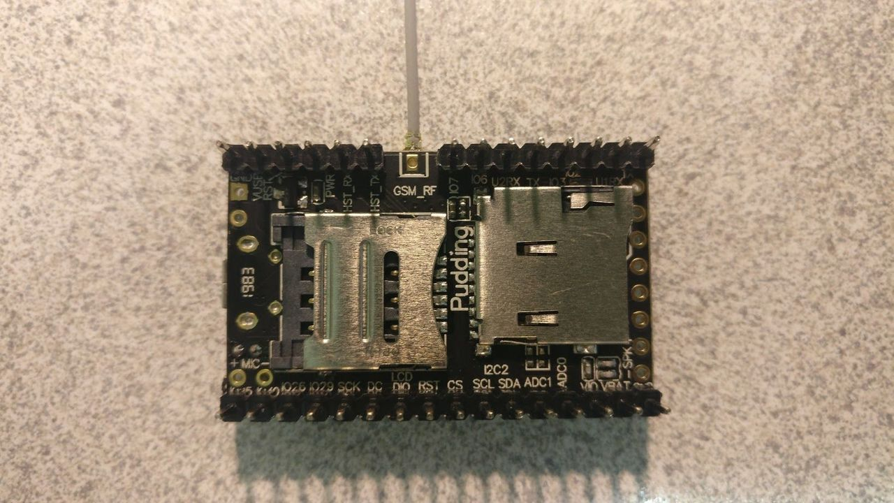Ai-Thinker A9 module with custom firmware