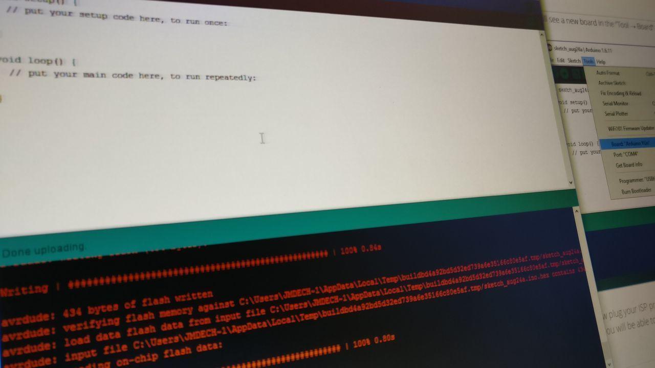 Arduino pro mini @ 1MHz in Arduino IDE