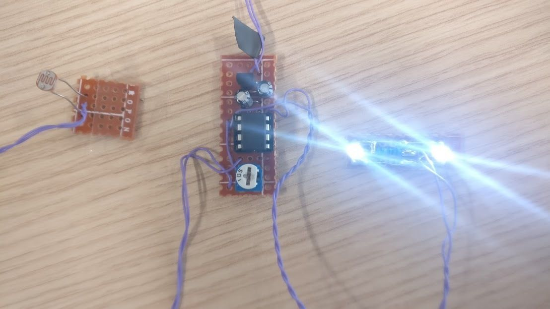 Pulse LED with ATtiny