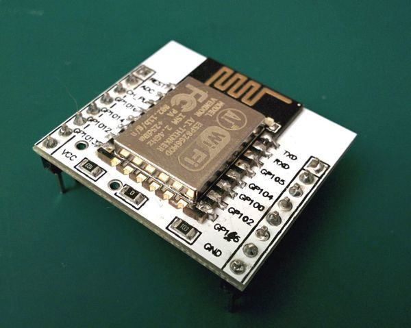 Fashing the ESP12E with the breadboard adapter