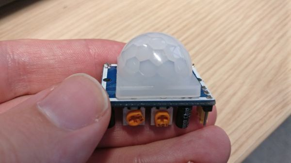 PIR sensors: HC-SR501