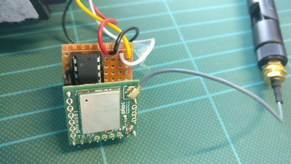 Sigfox sensor node
